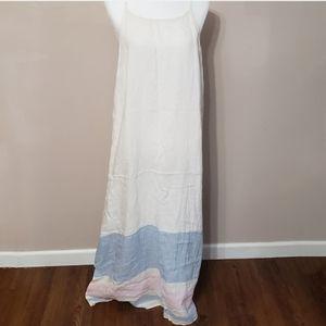C&C California linen maxi dress